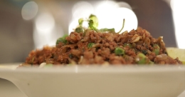 Brighten your mood with delicious keema matar