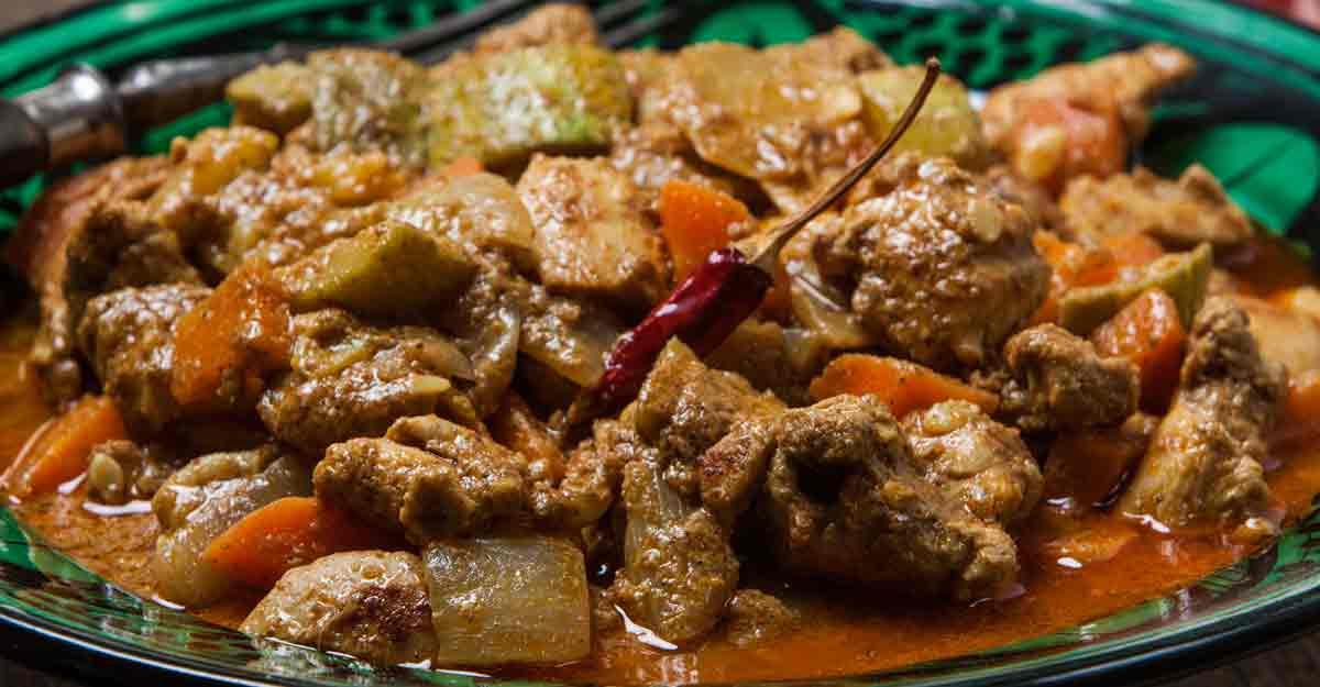 Special Kumarakom chicken curry