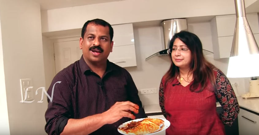 Special pomfret cooked in coconut milk by Suresh Pillai and Lakshmi Nair