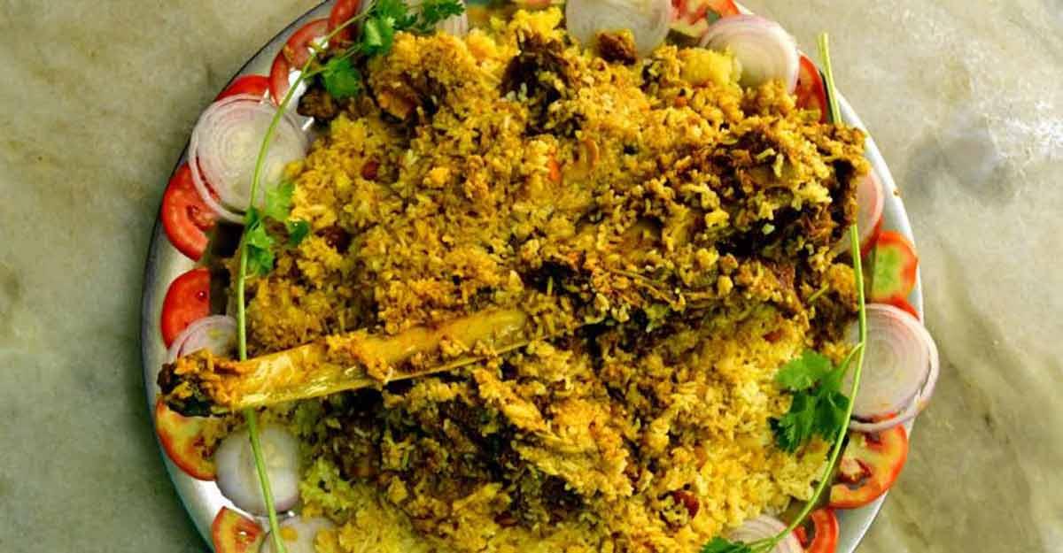 Thodupuzha Bharat Hotel special beef ribs biryani