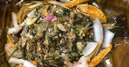 Special karimeen pollichathu by chef Suresh Pillai