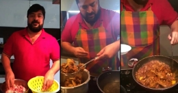 Bismi group's Ajmal cooks Kuttanadan duck roast amid lockdown