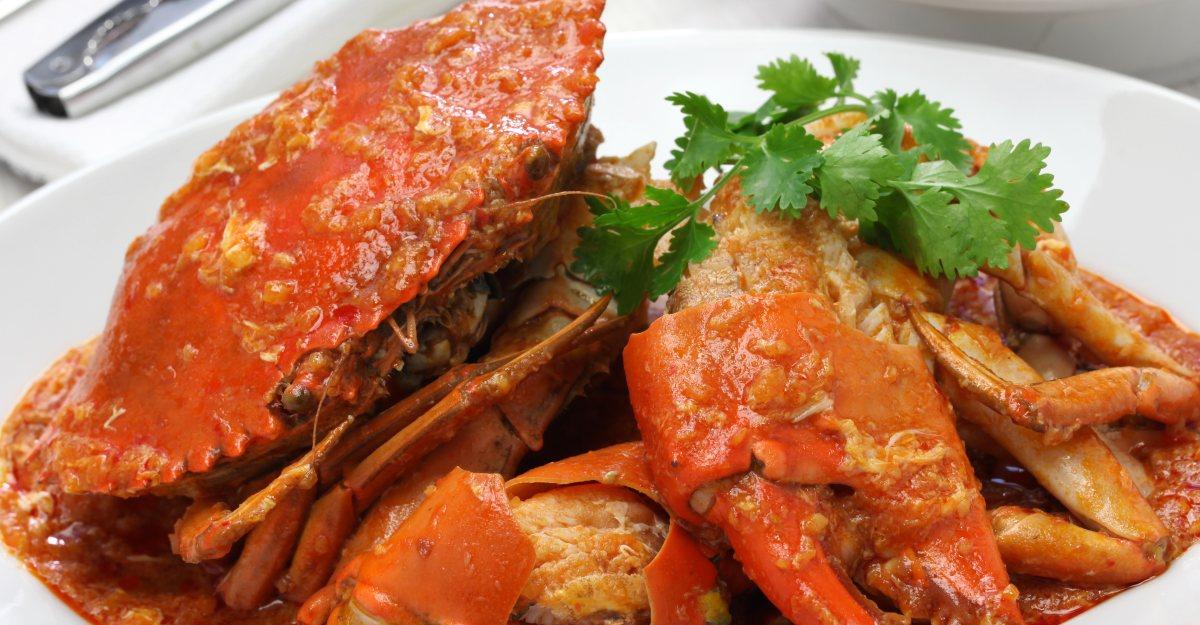 mud crab roast