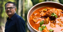 Ibrahim Kutty's varutharacha chicken curry without onions and tomatoes