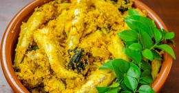 Morasu fish in green chilli gravy