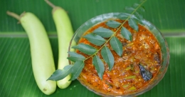 Kerala-style brinjal curry