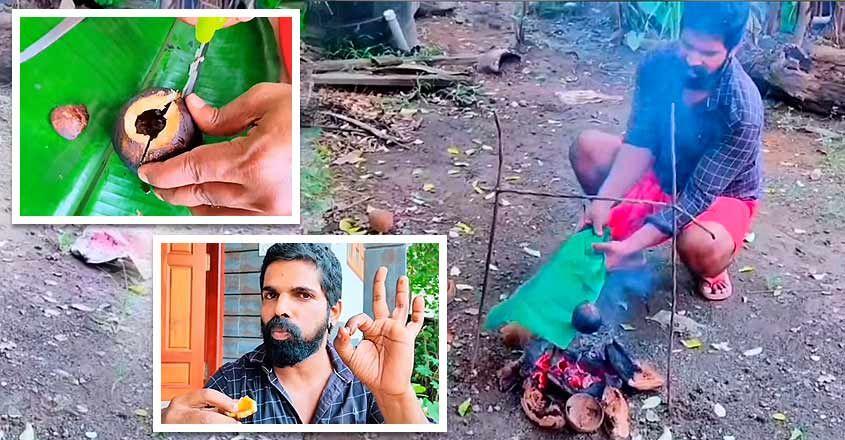 Bineesh Bastain tries a tasty local preparation