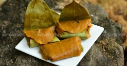 Chakka ada - Jackfruit dumplings with the goodness of bay leaves