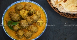 Ramadan special meatball curry