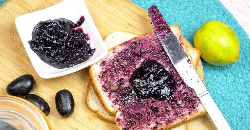 Make this delicious grape jam in 10 minutes