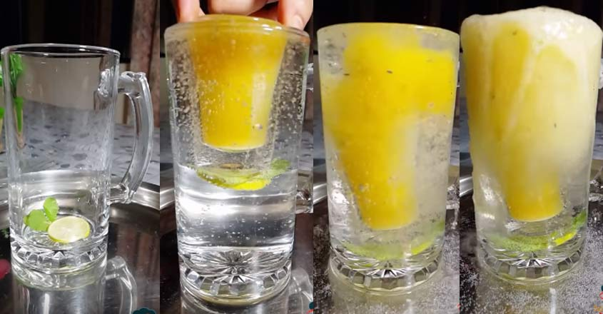 Try this delicious fuljar soda for iftar