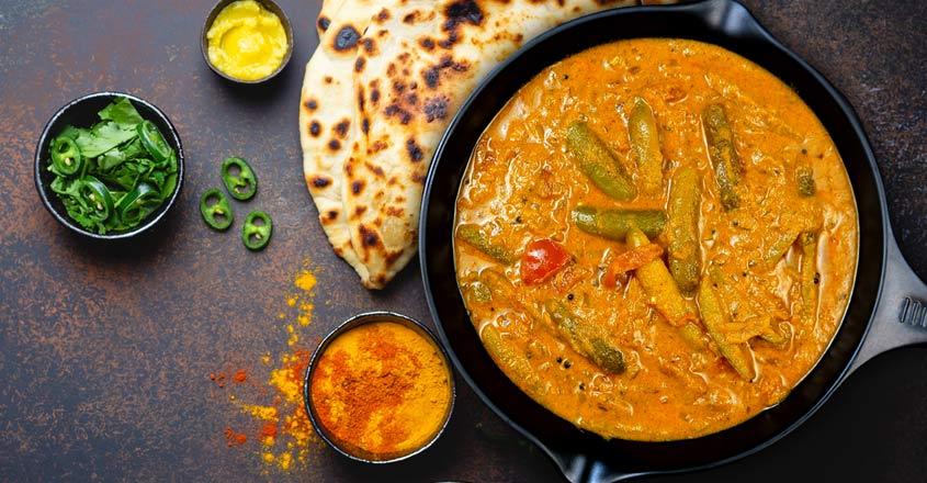 Kovakka masala curry