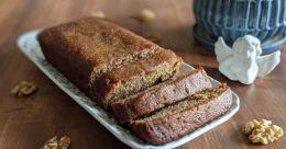 Wheat banana cake