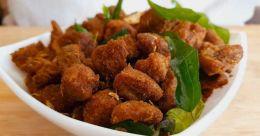 Crunchy soya chunks fry