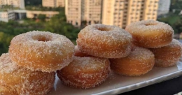 Soft and fluffy donuts