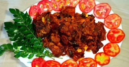 Kerala style fish perattu