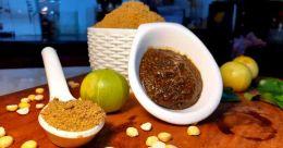 Gooseberry chutney powder