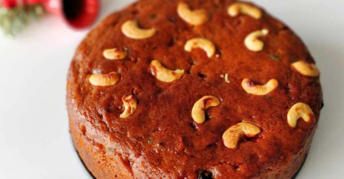 Perfect plum cake with no wine and eggs