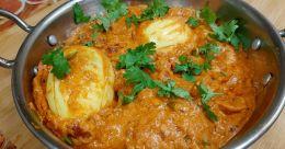 Special egg masala