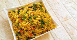 Tasty masala rice