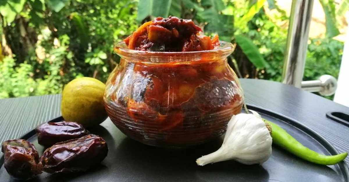 Dates-lime pickle