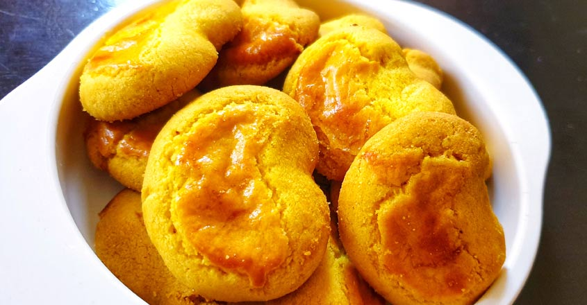 Bakery-style banana biscuit