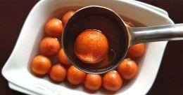 Easy homemade rava gulab jamun