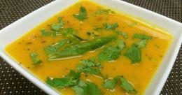 Gujarati-style dal curry