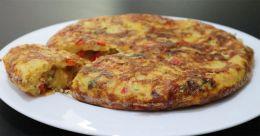 Classic Spanish omelet