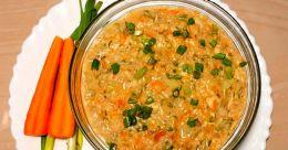 Oats-chicken soup
