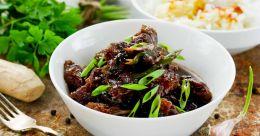 Thai-Kerala style beef fry