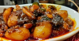 Sweet and sour rambuttan pickle