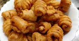 Crunchy semolina snack