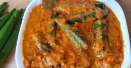 Dhaba-style bhindi masala