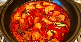 Kerala-style fish curry without fish?
