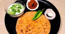 Jaipur special onion paratha