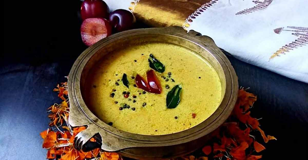 Try this special plum pulissery for Onam