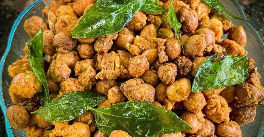 Spicy peanut masala