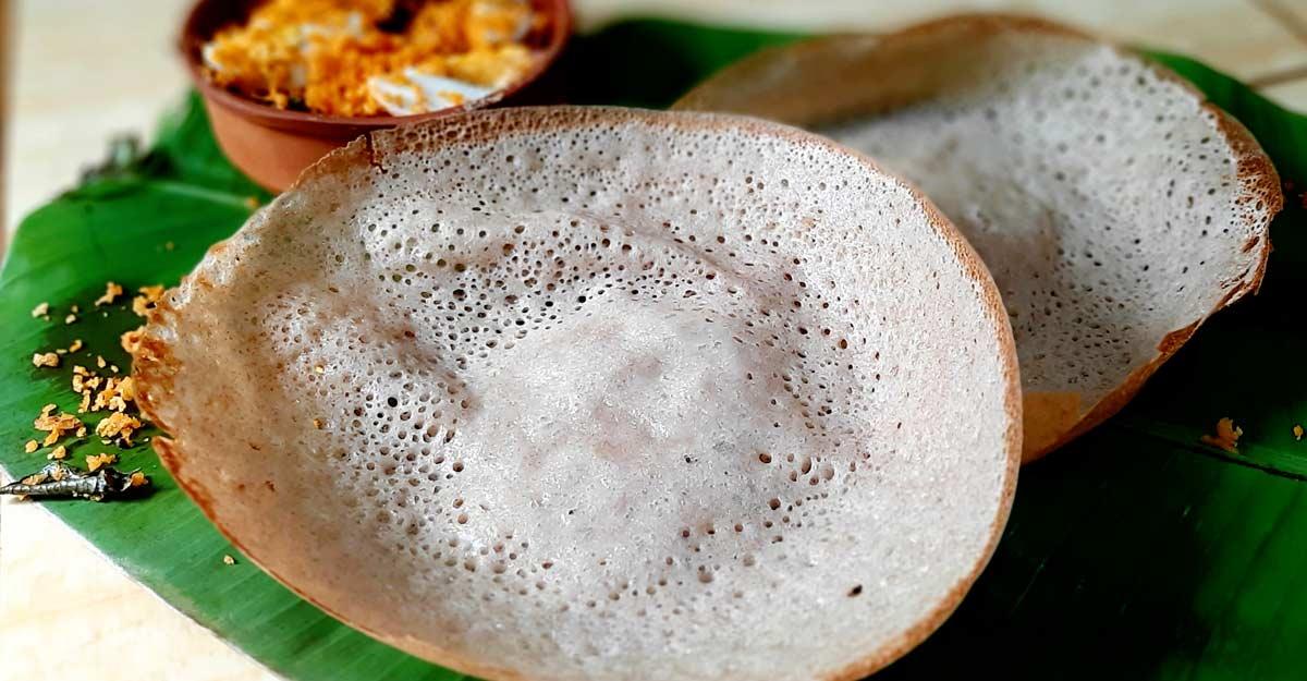 Wheat palappam