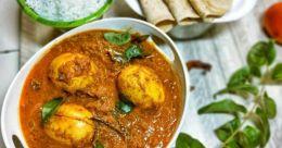 Chettinad egg curry