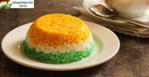 Tricolour healthy veggie puttu