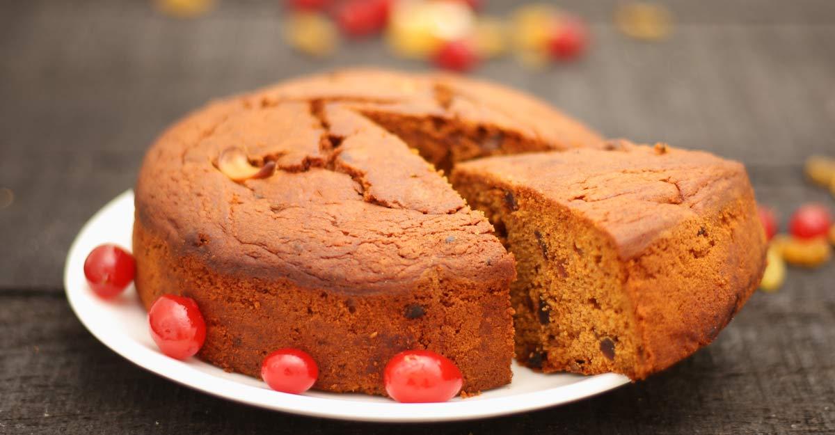 Instant plum cake
