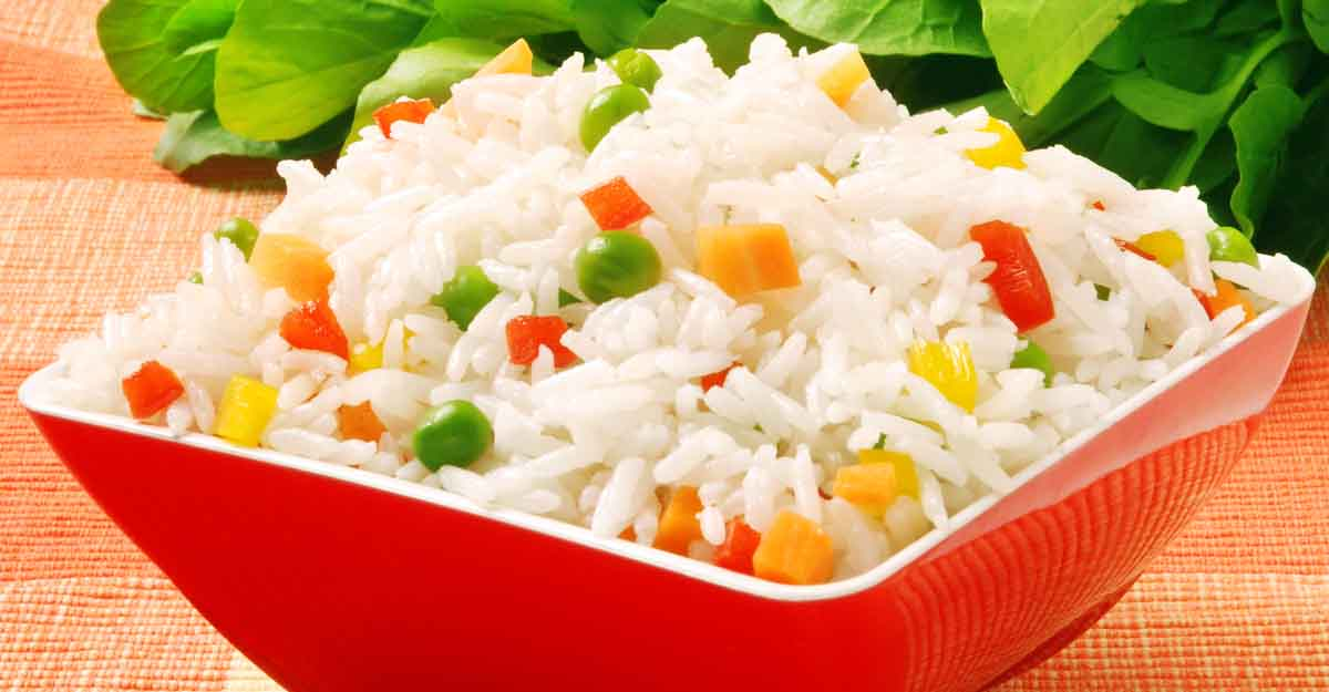 Aromatic capsicum rice