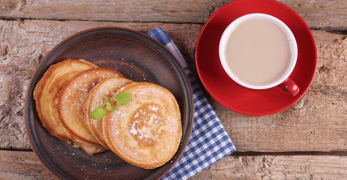 Coffee pancakes: the recipe for an original breakfast