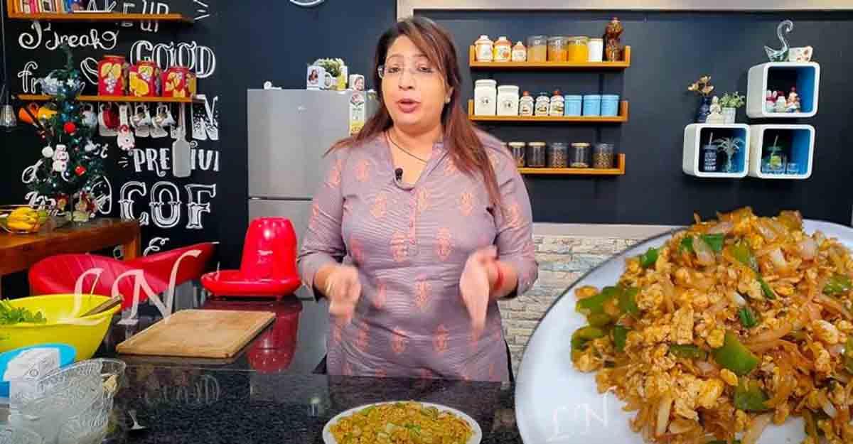 Easy egg chilli by Lakshmi Nair