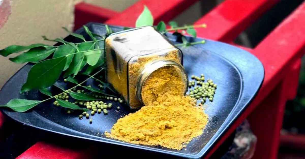 Green gram chutney powder