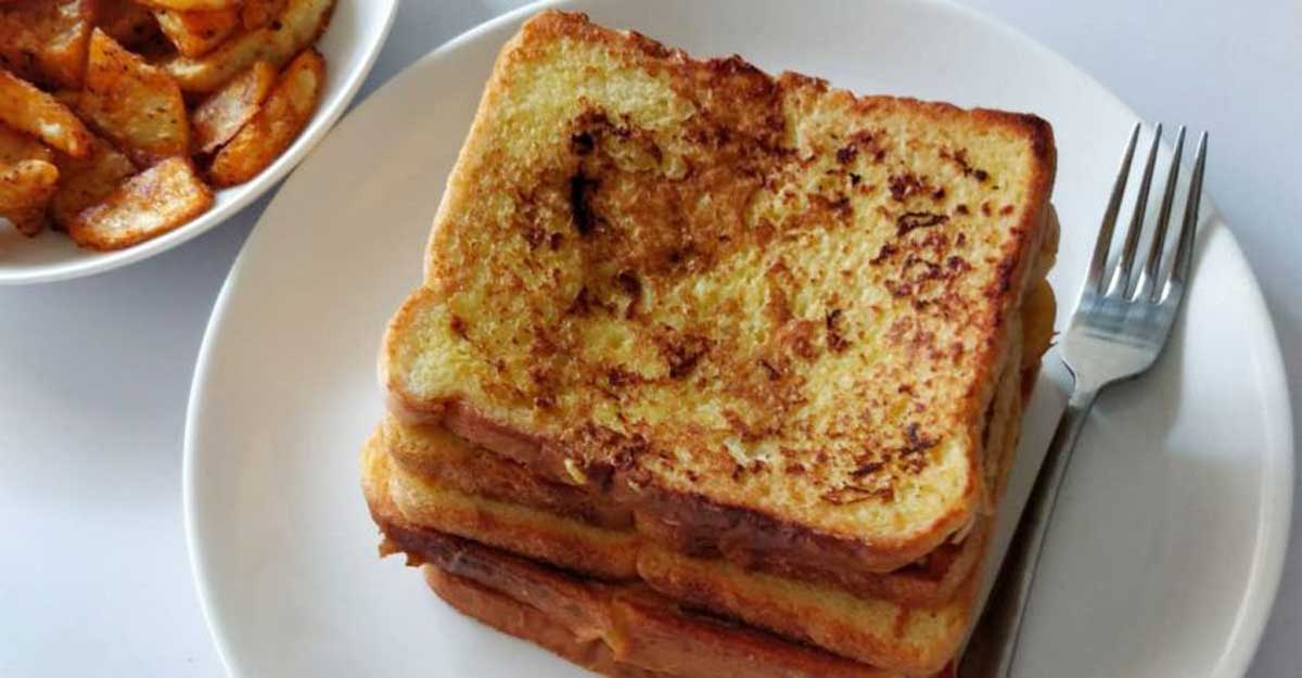 Simple and sweet Bombay toast
