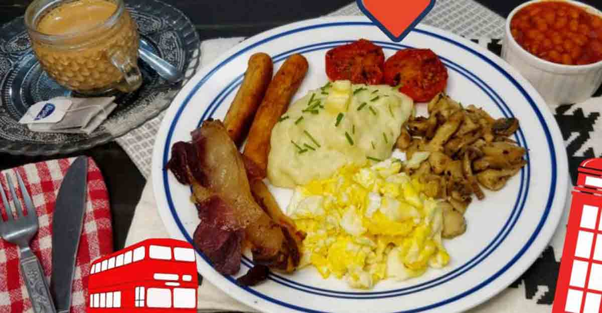 Try this amazing English breakfast at home