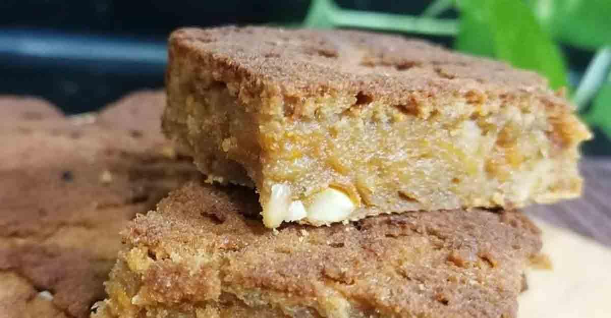 Healthy oats cake