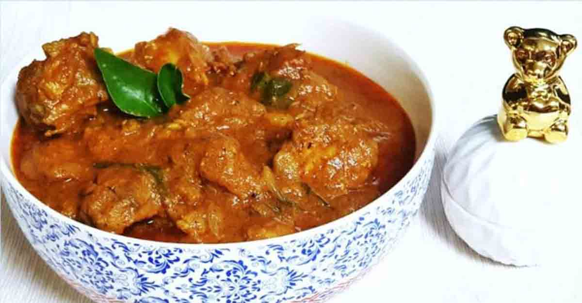 Flavourful Palporiyan chicken